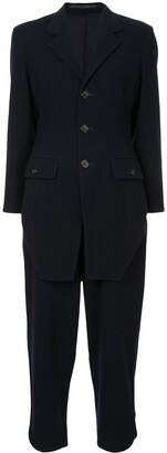 Yohji Yamamoto Pre Owned Front Tail Two-Piece Suit