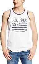 U.S. Polo Assn. Men's Americana Print Tank Top