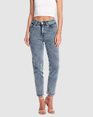 RES Denim Women's Blue Jeans - Donna Hi Slim Jean - Size One Size, 26 at The Iconic