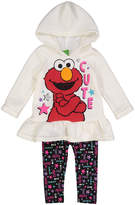 Children's Apparel Network Off White Elmo 'Cute' Hooded Top & Leggings Set - Infant