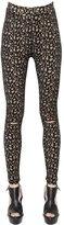 Akris Jacquard Knit Leggings