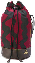 Vivienne Westwood printed drawstring shoulder bag