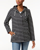 Charter Club Striped Anorak Jacket, Only at Macy's