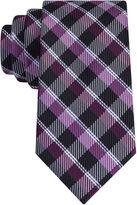 Jf J.Ferrar JF Senior Dark Gingham Tie