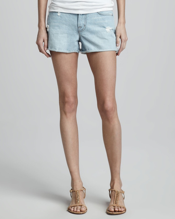 J Brand Jeans Aquarius Low-Rise Cutoffs