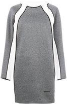 DSQUARED2 contrast mini dress