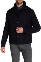 Peter Werth Spread Collar Herringbone Jacket