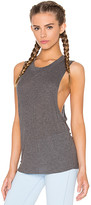 Alo Heat Wave Tank in Gray. - size L (also in M,XS)