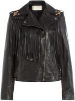 Valentino Volcano Leather Jacket