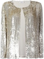 P.A.R.O.S.H. sequined cardigan - women - Viscose/PVC - XL
