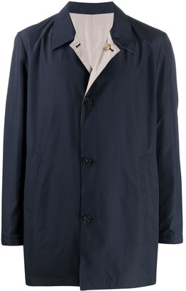 Corneliani Reversible Button Coat