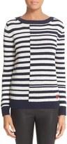 Loewe Women's Stripe Linen & Wool Sweater