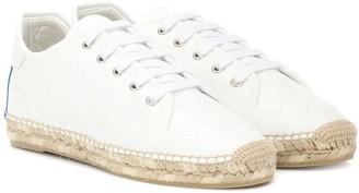 Stella McCartney Faux leather espadrille sneakers