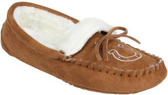 Women's Indianapolis Colts Moccasin Slippers