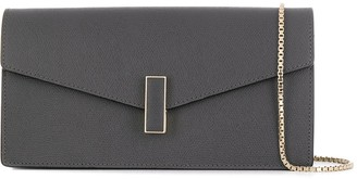 Valextra chain strap slim clutch