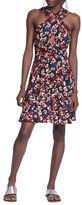 Tracy Reese Floral Halterneck Silk Dress