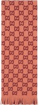 Gucci GG jacquard print scarf