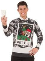Forum Men's Ugly Christmas Sweater, #Elfie