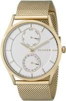 Skagen Men's Holst SKW6173 Gold Stainless-Steel Quartz Watch