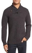 Billy Reid Men's Basketweave Cashmere Sweater