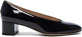 Mansur Gavriel Patent Leather Ballerina Pumps