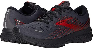 Brooks Ghost 13 GTX(r) (Black/Ebony/Red) Men's Running Shoes