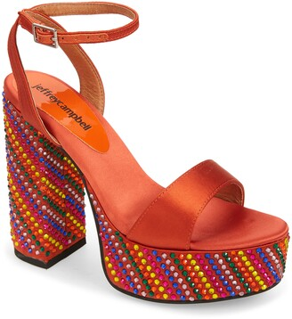 Jeffrey Campbell Discoteque Platform Sandal