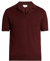 Brioni Knitted Short-sleeved Polo Shirt