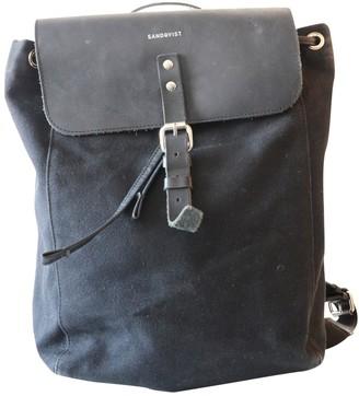 SANDQVIST Black Cloth Backpacks