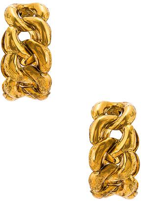 Jennifer Behr Tara Hoops Earrings in Gold | FWRD