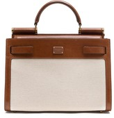 Dolce & Gabbana Canvas And Leather Bag