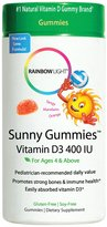 Rainbow Light Vitamin D 400 IU Sunny Gummies Chew, 60 ct