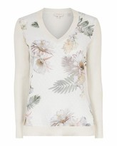Ted Baker Kaylaaa Woodland V Neck Jumper