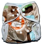 Minky BubuBibi One Size Fit All- Diaper Covers for Prefolds or Regular Inserts PUL F...