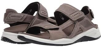 ECCO Sport X-Trinsic Leather Sandal (Warm Grey) Men's Sandals