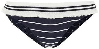 Jonathan Simkhai Striped bikini bottoms