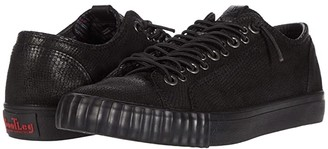 John Varvatos Vulcanized Multi Lace Top (Black) Men's Shoes
