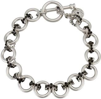 Freida Rothman Fleur Bloom Chunky Link Toggle Bracelet