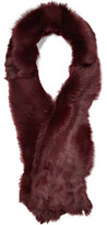 Karl Donoghue Toscana Shearling Scarf