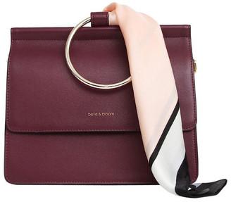 Belle & Bloom Wine Brianna Flap Over Crossbody Bag
