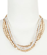 Southern Living Jackson Two-Tone Multi-Strand Necklace