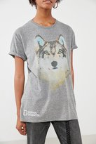 Urban Outfitters National Geographic Wolf Tee