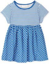 First Impressions Stripes & Dots Tunic, Baby Girls (0-24 months), Only at Macy's