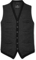 Nigel Cabourn - Mélange Boiled Wool Sweater Vest