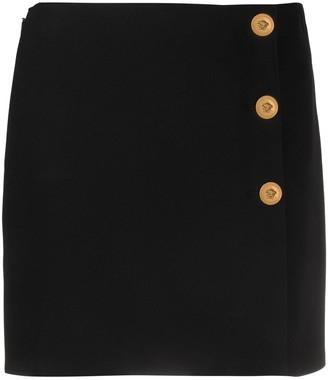 Versace High Waist Mini Skirt