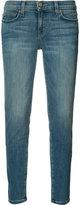 Current/Elliott super skinny cropped jeans
