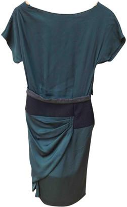 Vionnet Green Silk Dresses