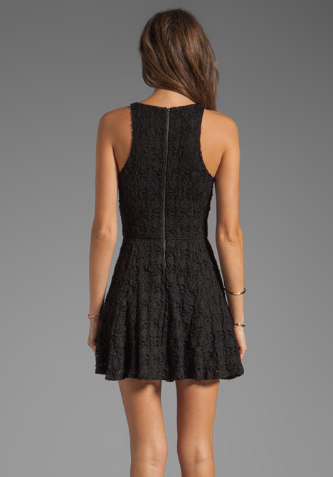 Eight Sixty Lace Full Skirt Dress