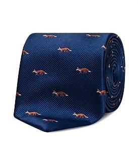 Van Heusen Navy Foxes Tie
