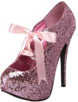 Pleaser USA Bordello by Women's Teeze 10 Glitter Platform Pump,